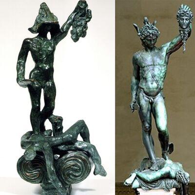 Salvador Dalí, 'Perseus with Head of Medusa- Homage to Benvenuto Cellini', 1976