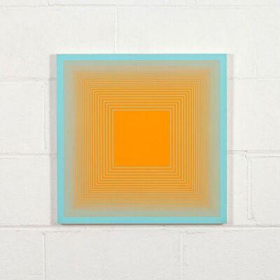 Richard Anuszkiewicz, 'Spectral 9 E Mid Century Modern Op Art ', 1969