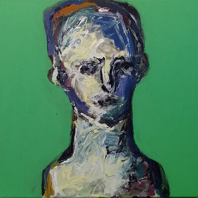 Renelio Marin, 'Head 1', 2004