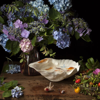 Paulette Tavormina, 'Flowers and Fish IV, After G.V.S.', 2012
