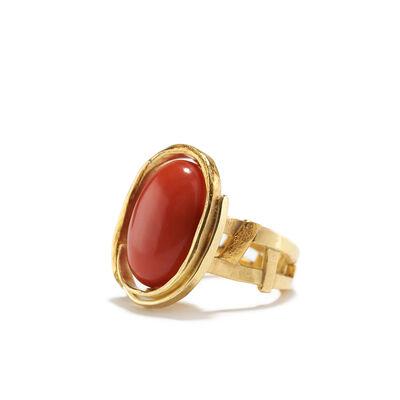 Nancy Michel, 'Red Coral Ring', ca. 2016