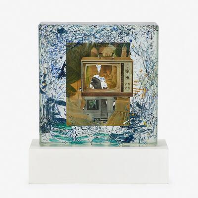 Dustin Yellin, 'Static White Cloud', 2014