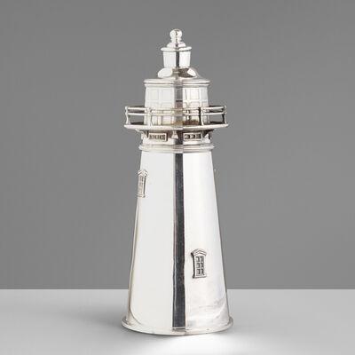 International Silver Company, 'Boston Lighthouse cocktail shaker', c. 1927