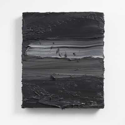 Jason Martin, 'Untitled (French Cassel Earth/ Scheveningen Black)', 2018
