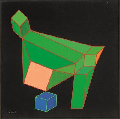 Achille Perilli, 'Elogio negritudine', 2002