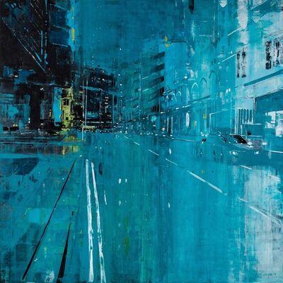 Nicholas Choong, 'Hang Lekiu In Blue', 2019