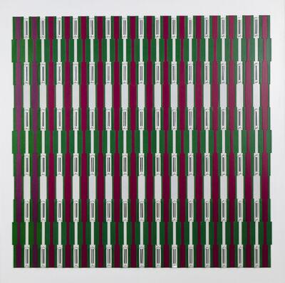 Juvenal Ravelo, 'Fragmentación de la luz y del color', 2016