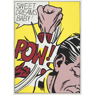 Roy Lichtenstein, 'Sweet Dreams, Baby! from 11 Pop Artists, Volume III', 1965