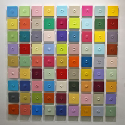 Sean O'Meallie, '81 Colorful Ani (The Large Array)', 2018-2019