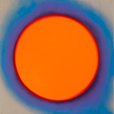 Jan Kaláb, 'Orange Moon', 2015