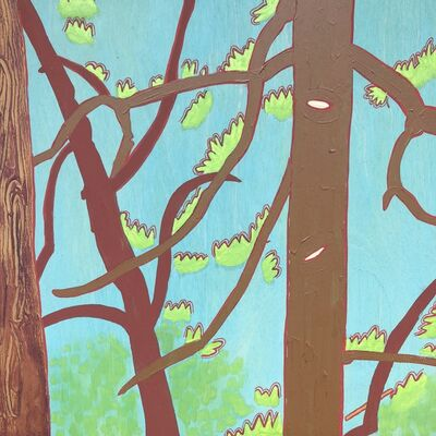 Meredith Nemirov, 'Brown/Red Branches ', 2014