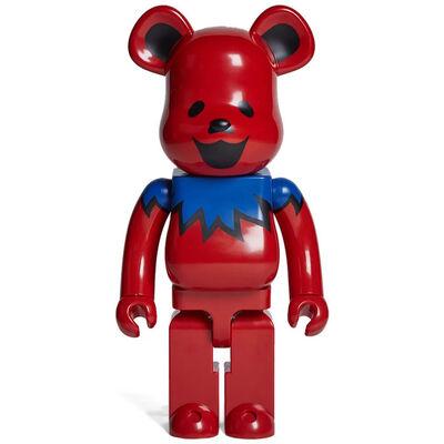 BE@RBRICK X Grateful Dead, 'Dancing Bear Red 1000% Be@rbrick', 2015