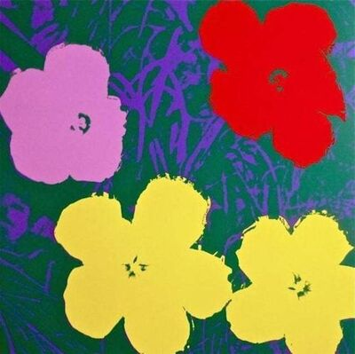 Andy Warhol, 'Flowers IV', 1970