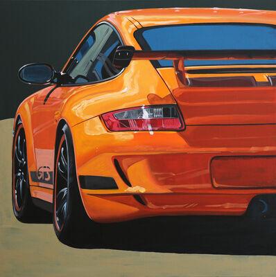 Manu Campa, 'Orange GT3', 2019