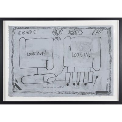 Jimmie Durham, 'Look In / Look Out', 1992