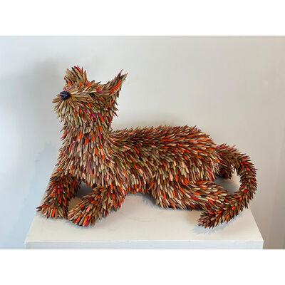 Federico Uribe, 'Attentive Dog', 2021