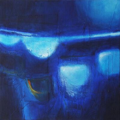 Martyn Brewster, 'Night Seascape, Full Moon', 2017