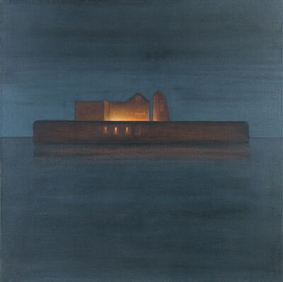 Eduard Angeli, 'The Island Santo Spirito at Night', 2008