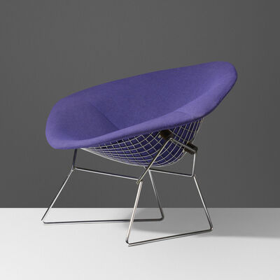 Harry Bertoia, 'Wide Diamond chair', 1952