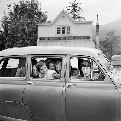Vivian Maier, 'w03271-10 , Kids in Car', 2015