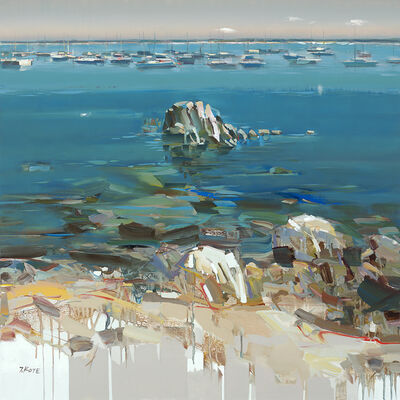 Josef Kote, 'Shades of Blue', 2019