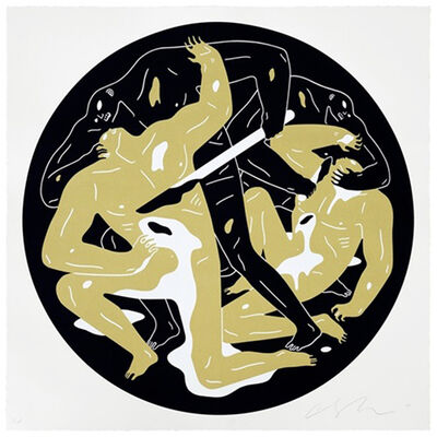 Cleon Peterson, 'This Is Darkness (Gold)', 2017