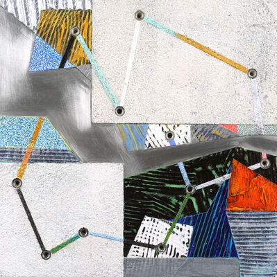 Francie Hester, 'Crossing Lines #12', 2021