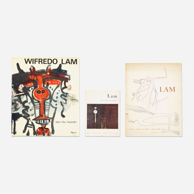 Wifredo Lam, 'collection of three books', 1960-1976