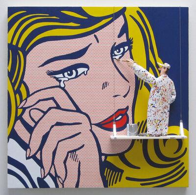 Stephen Hansen, 'Crying Girl: Lichtenstein,', 2016