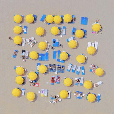 Jorge de la Torriente, 'Yellow Umbrellas ', 2019