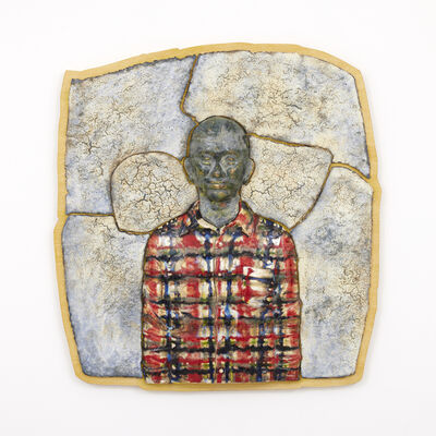 Masako Ando, 'Man in Plaid Shirt', 2021