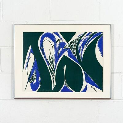 Lee Krasner, 'Free Space Blue', 1975