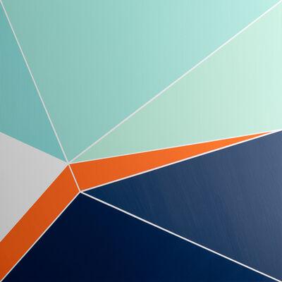 Bryan Boone, 'Folding Procession 1', 2020