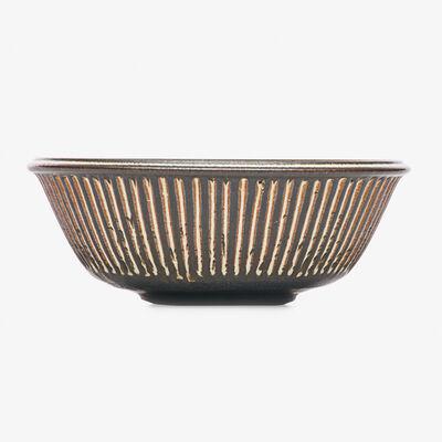 Harrison McIntosh, 'Striped bowl, Claremont, CA'