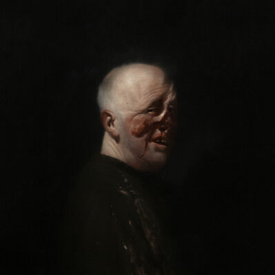 Ken Currie, 'Self Portrait After Henry Tonks 2', 2013