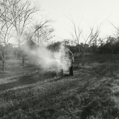 Frank Gohlke, 'My dad burning trash - Edmond, Oklahoma', 1974/2016
