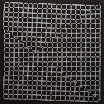 Christopher Iseri, 'Grids and Dots III (black)', 2016