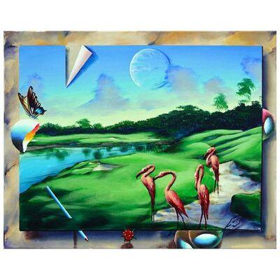Ferjo, 'Resting Flamingos', 2000-2020