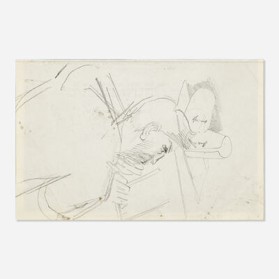 Stanley Spencer, 'Untitled (sketch of a man)'