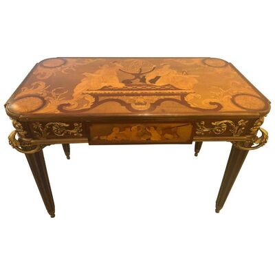 Attributed to Francois Linke, 'Table De Salon, Signed Francois Linke Centre Table Louis XV Style', 1890s