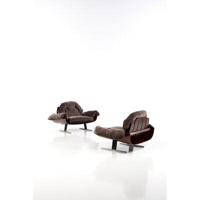 Jorge Zalszupin, 'Poltrona Presidencial, Pair of armchairs', circa 1970