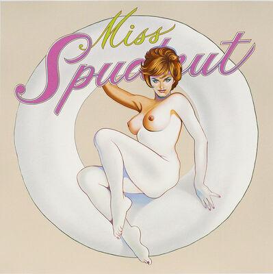 Mel Ramos, 'Miss Spudnut', 2015