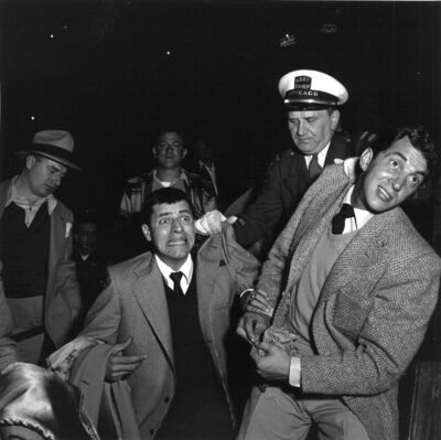 Mickey Pallas, 'Dean Martin and Jerry Lewis, Chicago', 1951