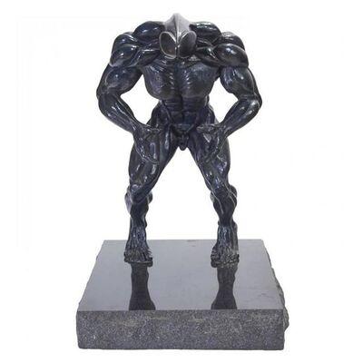 "Robert Longo, 'Rare ""Dickhead"" Robert Longo  Bronze Sculpture', 1980-1989"