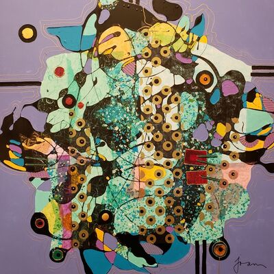 Joan Burmeister, 'Abstract #110', 2019
