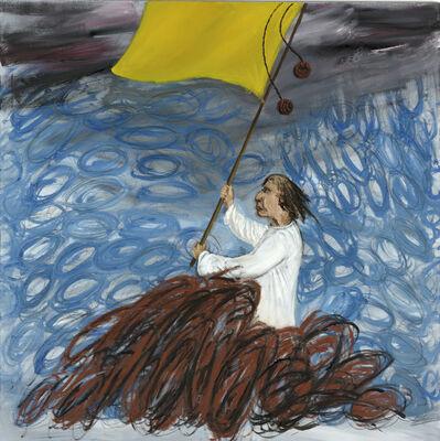 Yuri Leiderman, 'Man with Yellow Flag', 2013