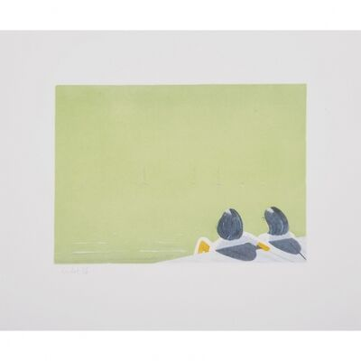 Alex Katz, 'Harbor', 2006