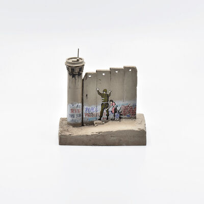 Banksy, 'Walled Off Hotel - Wall Sculpture (Stop and Search)', 2018