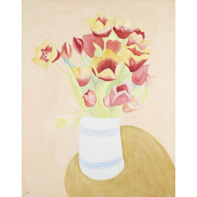 Sally Michel, 'Still Life With Tulips'