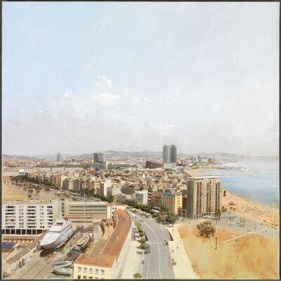 Andrés Moya, 'Two views. North Barcelona', 2007